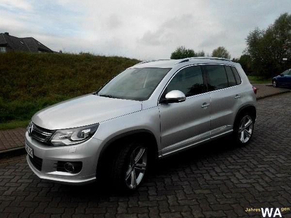 euro f r einen volkswagen tiguan jahreswagen mit 11000 km. Black Bedroom Furniture Sets. Home Design Ideas
