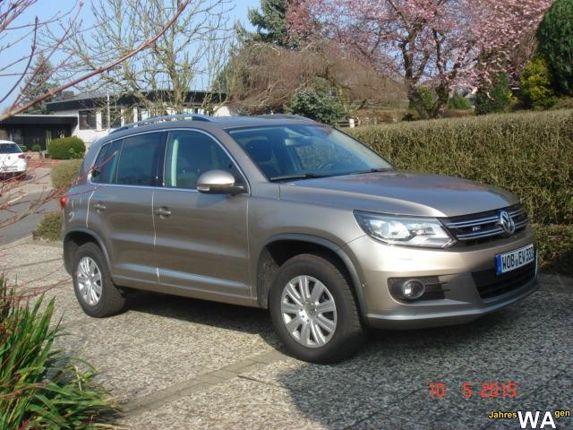 euro f r einen volkswagen tiguan jahreswagen mit 7800 km. Black Bedroom Furniture Sets. Home Design Ideas