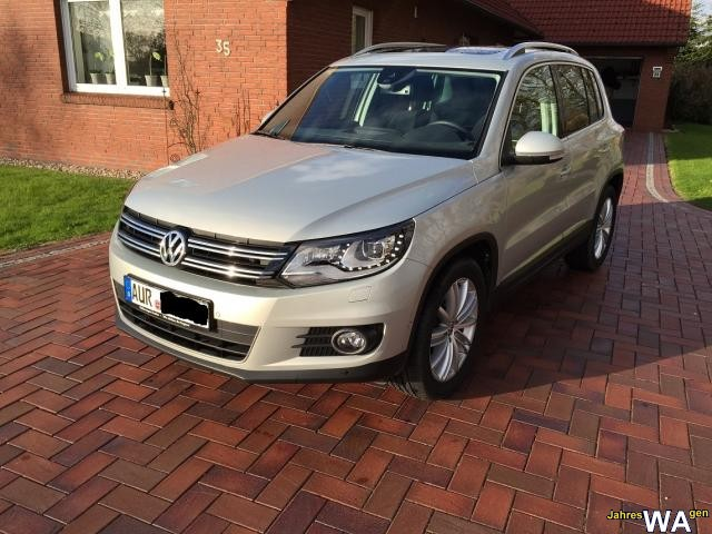 euro f r einen volkswagen tiguan jahreswagen mit 29850 km. Black Bedroom Furniture Sets. Home Design Ideas