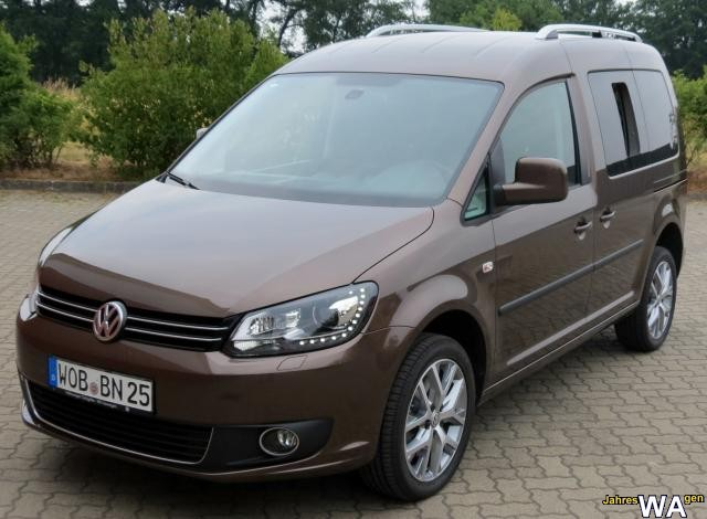 euro f r einen volkswagen caddy jahreswagen mit 19000 km. Black Bedroom Furniture Sets. Home Design Ideas