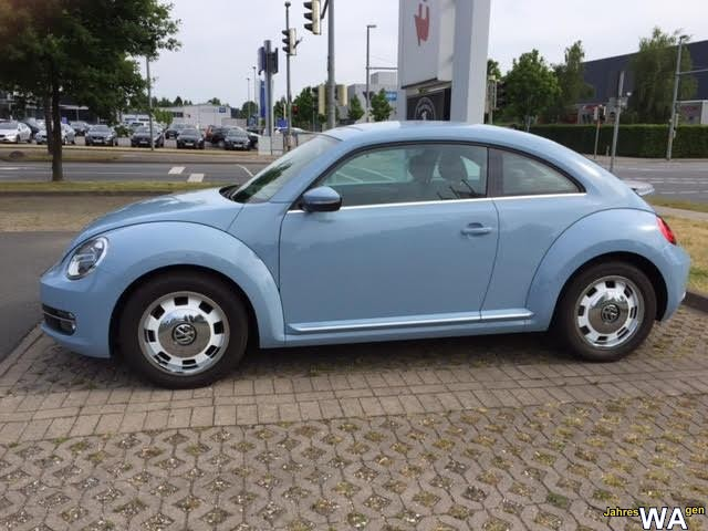euro f r einen volkswagen the beetle jahreswagen mit 28500 km. Black Bedroom Furniture Sets. Home Design Ideas