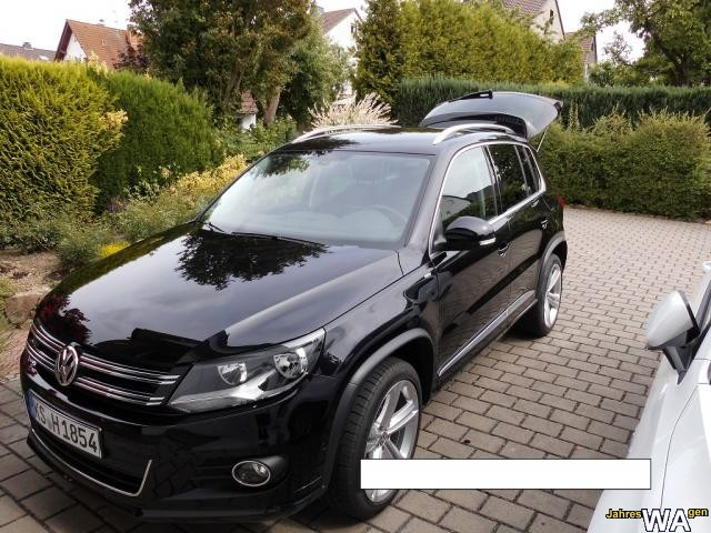 euro f r einen volkswagen tiguan jahreswagen mit 12000 km. Black Bedroom Furniture Sets. Home Design Ideas