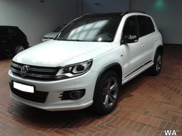 euro f r einen volkswagen tiguan jahreswagen mit 29000 km. Black Bedroom Furniture Sets. Home Design Ideas