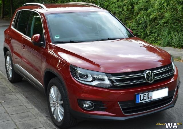 euro f r einen jahreswagen tiguan mit 13500 km. Black Bedroom Furniture Sets. Home Design Ideas