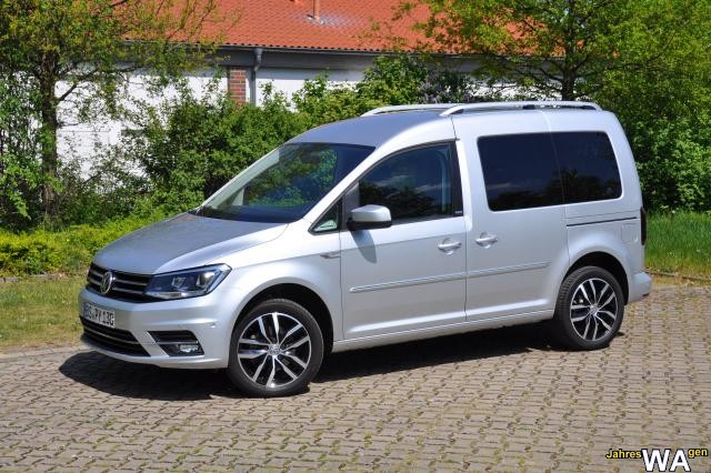 euro f r einen volkswagen caddy jahreswagen mit 8000 km. Black Bedroom Furniture Sets. Home Design Ideas
