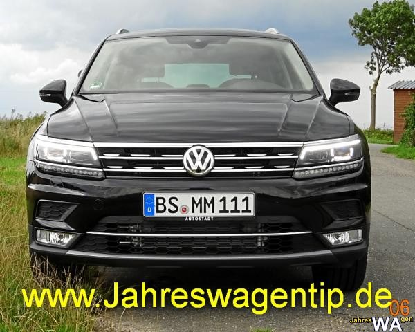 euro f r einen volkswagen tiguan jahreswagen mit 5000 km. Black Bedroom Furniture Sets. Home Design Ideas