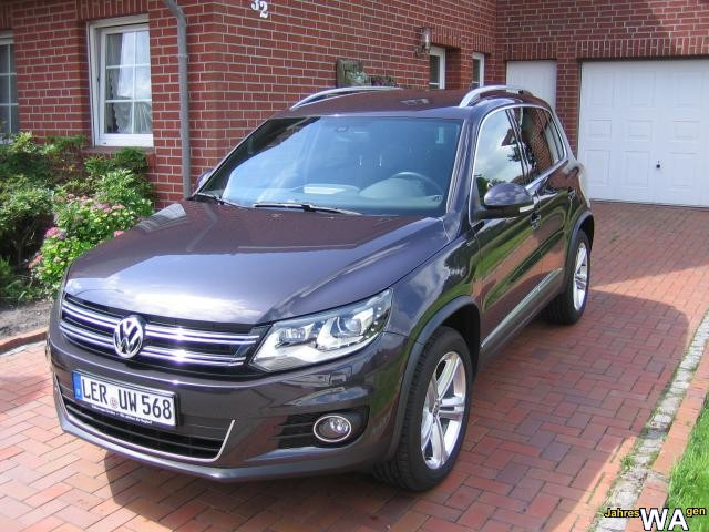 euro f r einen jahreswagen tiguan mit 19500 km. Black Bedroom Furniture Sets. Home Design Ideas