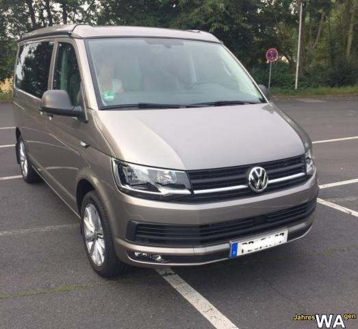 euro f r einen volkswagen california jahreswagen mit 17500 km. Black Bedroom Furniture Sets. Home Design Ideas
