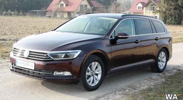 euro f r einen volkswagen passat variant jahreswagen mit 28000 km. Black Bedroom Furniture Sets. Home Design Ideas