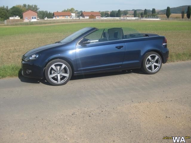 euro f r einen volkswagen golf cabriolet jahreswagen mit 15500 km. Black Bedroom Furniture Sets. Home Design Ideas