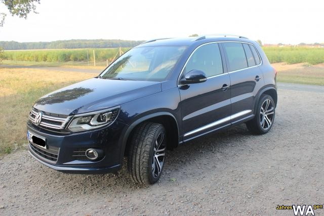 euro f r einen volkswagen tiguan jahreswagen mit 30000 km. Black Bedroom Furniture Sets. Home Design Ideas
