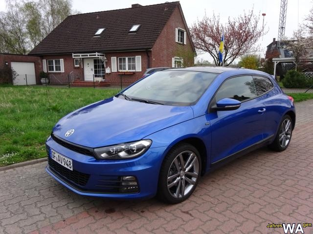 Scirocco in Rising Blue Metallic