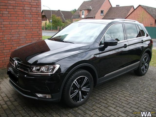 euro f r einen volkswagen tiguan jahreswagen mit 12500 km. Black Bedroom Furniture Sets. Home Design Ideas