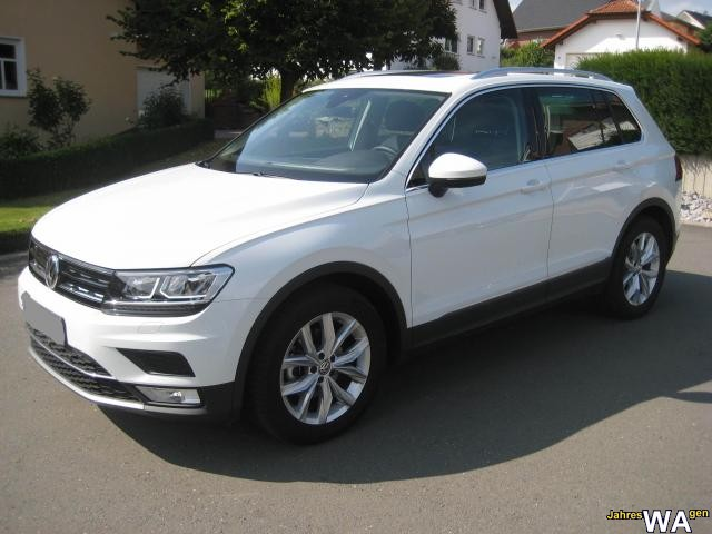 euro f r einen volkswagen tiguan jahreswagen mit 9000 km. Black Bedroom Furniture Sets. Home Design Ideas