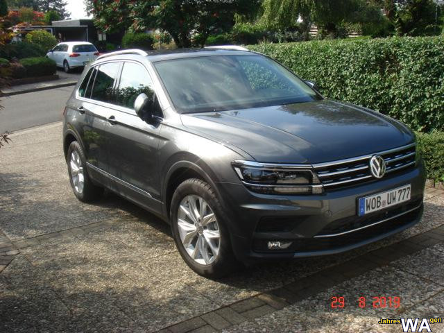 Tiguan in Indiumgrau Metallic