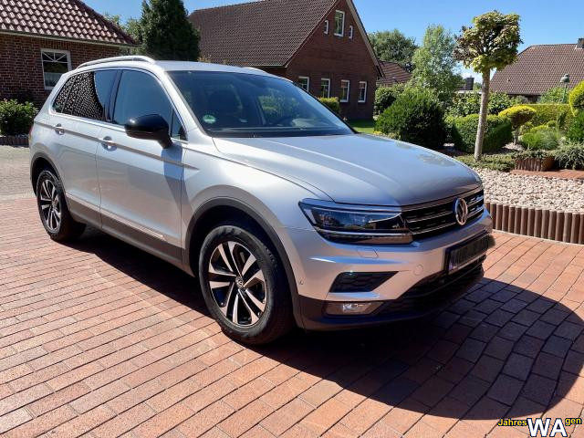 Tiguan in Reflexsilber Metallic